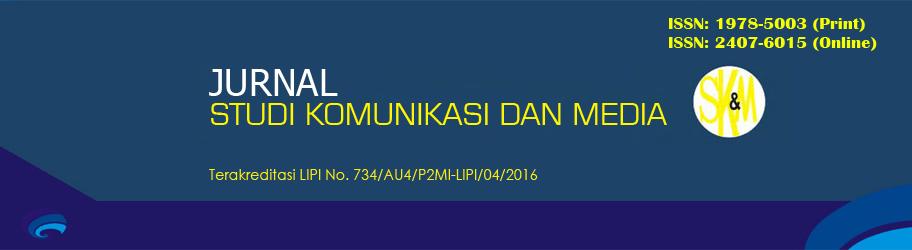 Jurnal Studi Komunikasi dan Media BPPKI Jakarta